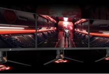 华硕发布PG27VQ电竞显示器:165Hz、RGB信仰灯