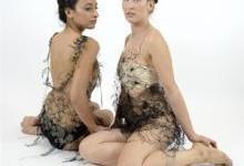 """以色列设计研究生使用3D笔制作""""3D Lace""""女装内衣"""
