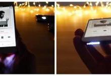 "iPhone 7加装LED灯""辣眼睛"" 魅蓝""内外兼修"""