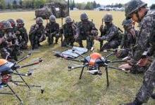 """韩陆军将成立""""无人机机器人战斗团"""""""