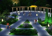 借军运会东风 金银湖新增景观照明项目
