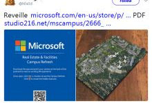 AR技术带你游览微软新园区