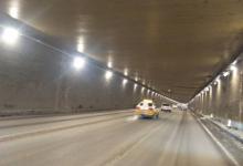 长春飞跃路隧道全新LED照明灯正式点亮