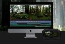苹果Final Cut Pro X现在能剪辑全景视频了