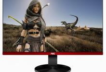 冠捷发布G90系列游戏显示器:三面超窄边框/144Hz刷新率