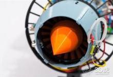 3D打印超逼真X-Plorer 1喷气发动机