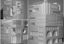 3D打印巨型模型汇集35个世界着名建筑