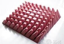 糕点师将糖果工艺、数学算法和3D打印相结合以创建新型几何蛋糕
