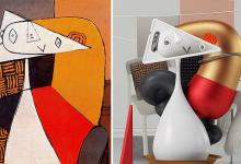 厉害!他用3D打印把毕加索变成了现实