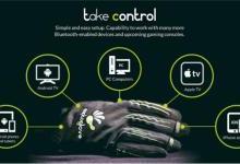 灵活的虚拟现实控制手套问世