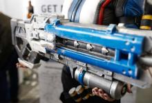 3D打印暴雪娱乐射击游戏Overwatch枪支