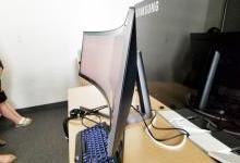 三星推出一款超级巨宽屏显示器