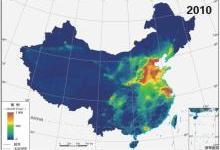 """""""十二五""""中国空气质量的变化情况"""