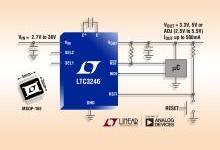 凌力尔特推出2.7V至38V/500mA低噪声降压-升压型充电泵