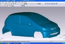 比亚迪汽车借激光3D扫描使新车研发流程更便捷精准
