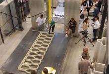 TU/e携手BAM皇家集团3D打印长达8米桥梁