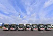 全国首条商业化氢能源公交示范线在佛山投入运营