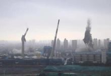 节能环保重压下 天津陈塘热电厂爆破