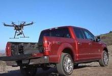 挑战激光雷达 福特用无人机给自驾汽车导航