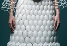 超强艺术感--3D打印服装灵感来源蜂巢
