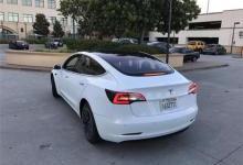 探秘特斯拉Model 3新照最终版设计