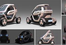 韩国推出最新小型3D打印概念车