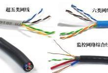 安防数字监控可选择网线进行布线