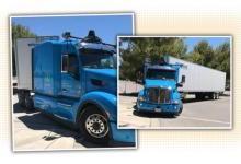 谷歌自动驾驶卡车首曝光