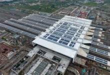 杭州火车南站建成4.2兆瓦屋顶光伏