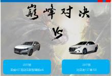 荣威ei6与比亚迪秦同台竞技:花季美女VS肌肉猛男