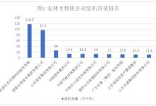 2016年生物质发电企业排名报告(图文)