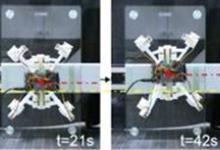 模仿壁虎的3D打印四足机器人