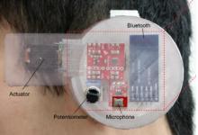 研究人员开发3D打印耳戴式传感器设备