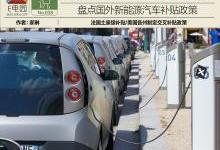 盘点:国外新能源汽车补贴政策一览