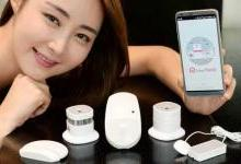 LG推出5款全新家用物联网传感器