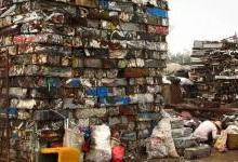 """""""洋垃圾""""背后是想象不到的污染"""