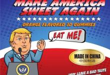 3D打印的特朗普软糖问世:恨他就咬他
