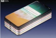 iPhone 8屏幕确认不会植入指纹感应系统