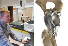 尼康获3D打印髋关节植入物扫描认证资格