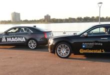 大陆麦格纳联手开展无人驾驶跨国境测试