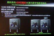 争夺高端市场:索尼推出4K激光放映机