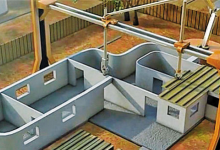 解密3D打印混凝土结构及原材料