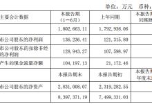 特变电工:上半年净利润13.62亿同比增长12.3%