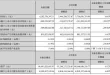 漳泽电力上半年净利润下滑324.21%