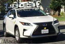 无人驾驶测试车头顶雷达传感器吸睛