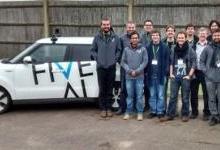英国创业公司FiveAI获千万融资 开发人工智能出租车服务