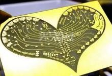 激光精密加工 创意PCB造型层出不穷