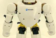 笃行体感人形机器人亮相全国众创周