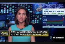 特斯拉携手AMD 将打造专属自动驾驶的AI处理芯片