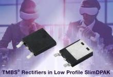 Vishay 推出更薄、更小、更高效率的TMBS整流器